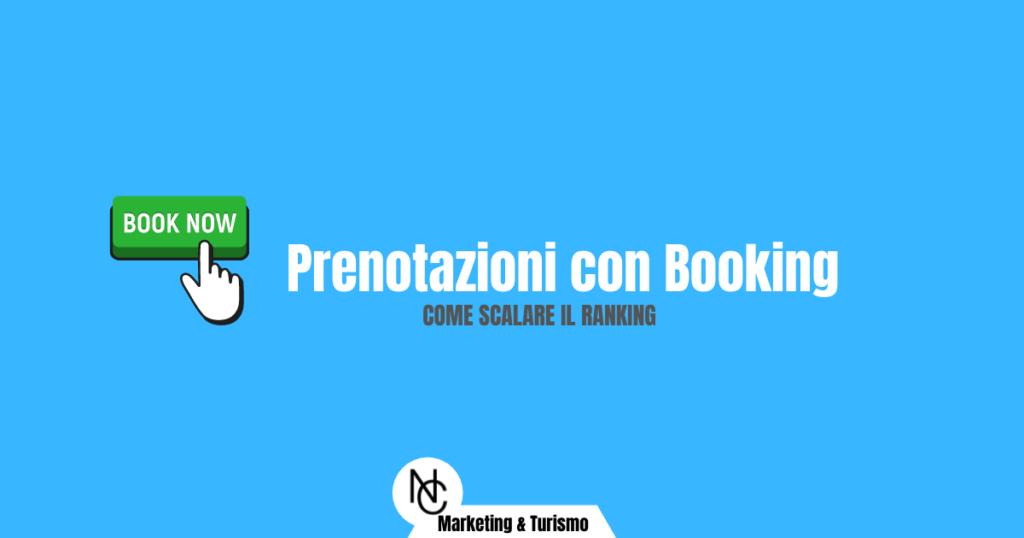 Prenotazioni con Booking: come scalare il ranking